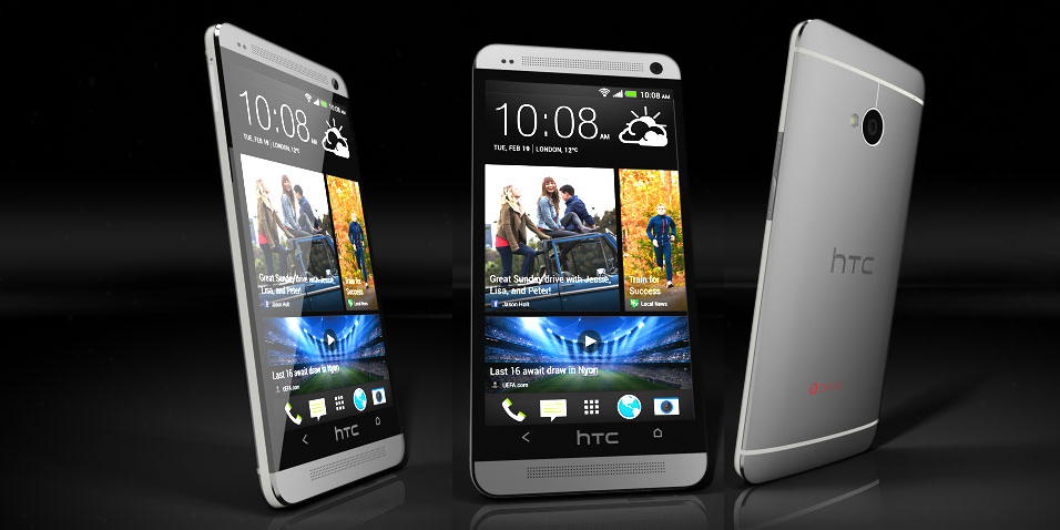 HTC One получает Android 4.4
