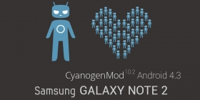 Прошивка Samsung GT-N7100 Galaxy Note 2 на CyanogenMod 10.2 с Android 4.3